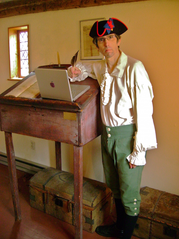 colonial writer
